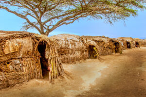 Africa, African, Maasai, Serengeti National Park, Tanzania, building, house, residential building, travel, village