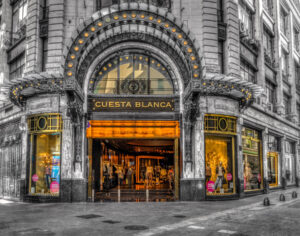 Argentina, B&W, Buenos Aires, Puerto Madero, South America, black & white, building, commercial building, digital art, store