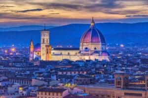 Europe, Florence, HDR, Italy, MacPhun Aurora HDR, blue light, night