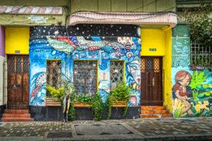 ART, Bogota, Colombia, HDR, La Candelaria, MacPhun Aurora HDR, South America, graffiti, street art, wall mural