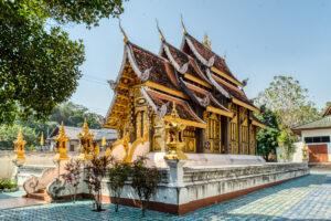 Asia, Chiang Mai, Don Kaeo Temple, HDR, MacPhun Aurora HDR, Thailand, buddhist, building, religious, religious building, temple