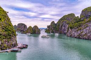 Asia, Halong Bay, Vietnam