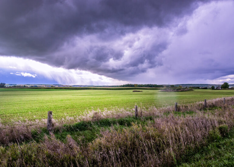 Canada, Mississauga, North America, Ontario, field, landscape, rural, scenery, storm, storm clouds