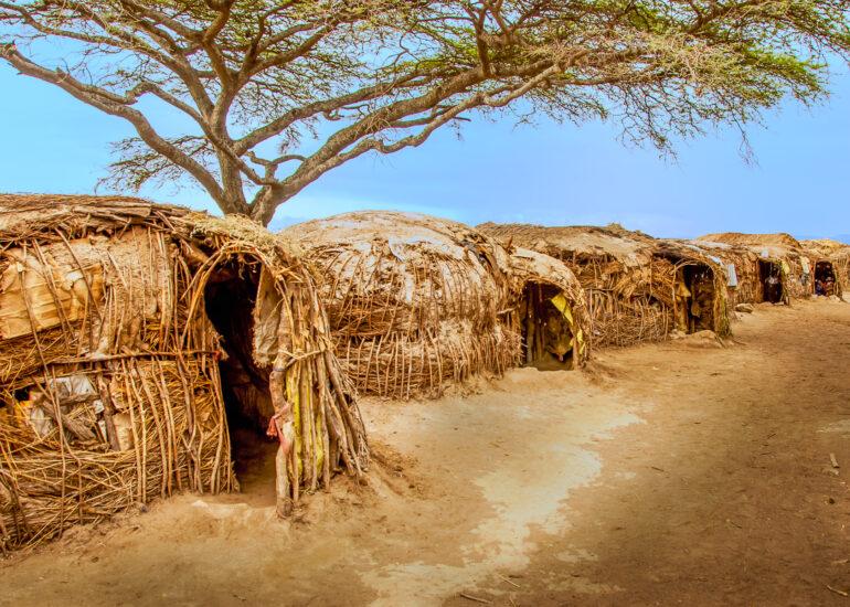 Africa, African, Maasai, Serengeti National Park, Tanzania, building, house, residential building, travel, village