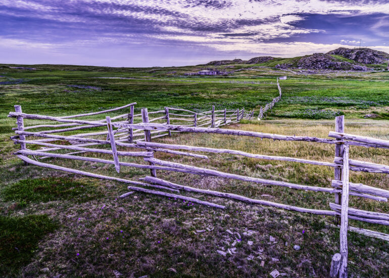 Bonavista, Butlers B&B, Canada, Newfoundland & Labador, North America, architectural detail, fence, home parts, landscape, picturesque, travel, wood