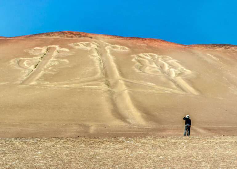 Absolute Peru 2014, Candelabra of Paracas, EVENTS, HDR, Paracus, Peru, Photomatrix Pro, South America, geoglyph