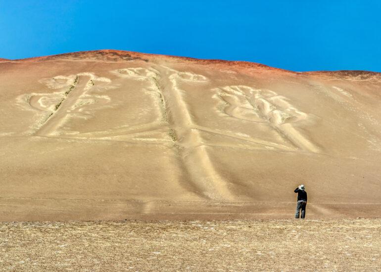 Absolute Peru 2014, Candelabra of Paracas, EVENTS, HDR, Paracus, Peru, Photomatrix Pro, South America, geoglyph