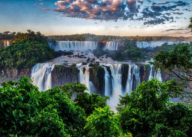 Argentina, Iguazu Falls, PEOPLE, Portfolio Print, South America, Trey Ratcliff, travel, water fall