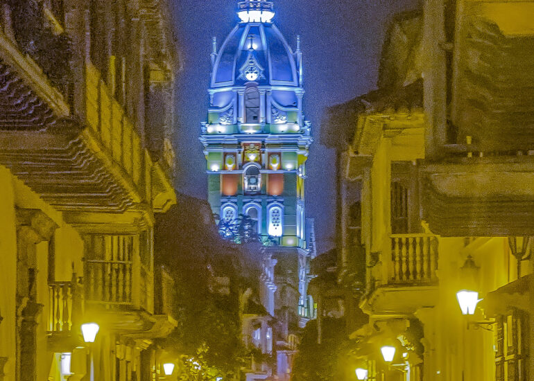 Cartagena, Colombia, South America, Walled City
