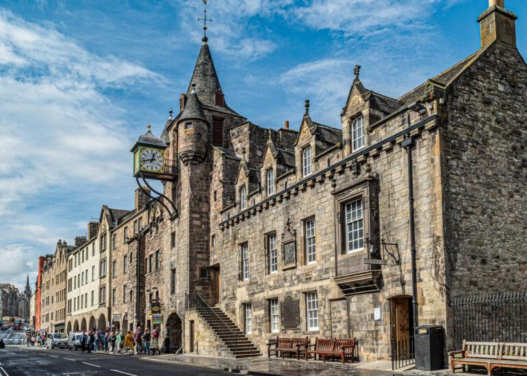 Edinburgh, Europe, Royal Mile, Scotland, United Kingdom, building, museum, old building, recreation building, travel