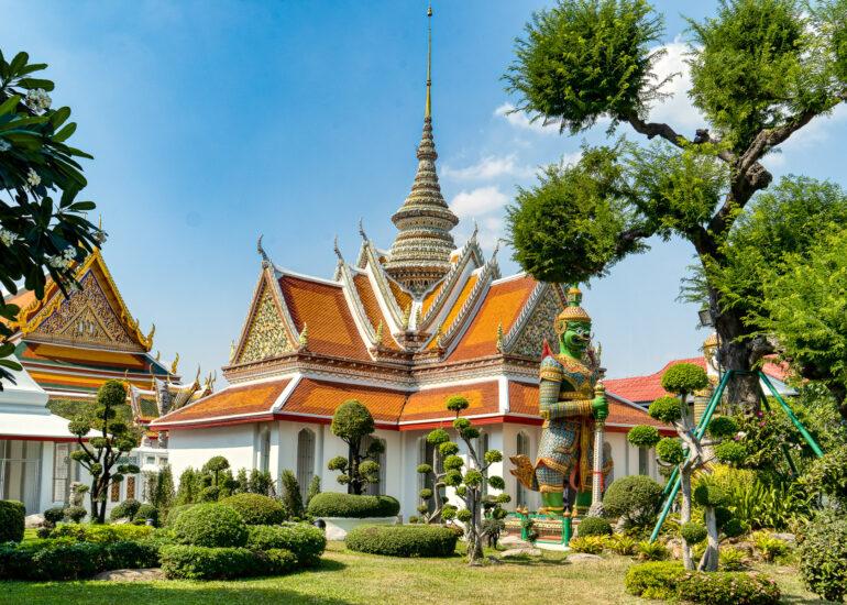 Asia, Bangkok, Chao Phraya River, HDR, MacPhun Aurora HDR, Thailand, Wat Phra Keaw Temple, building, historic, religious, religious building, temple