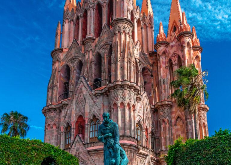 EVENTS, HDR, La Parroquia de San Miguel Arcangel, Mexico, North America, San Miguel de Allende, San Miguel14
