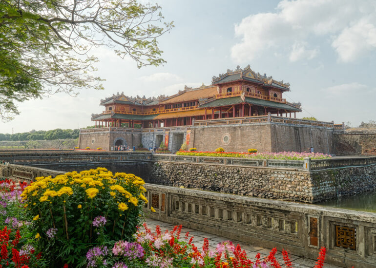 Asia, HDR, Hue, MacPhun Aurora HDR, The Citadel in the Imperial City of Hue, Vietnam